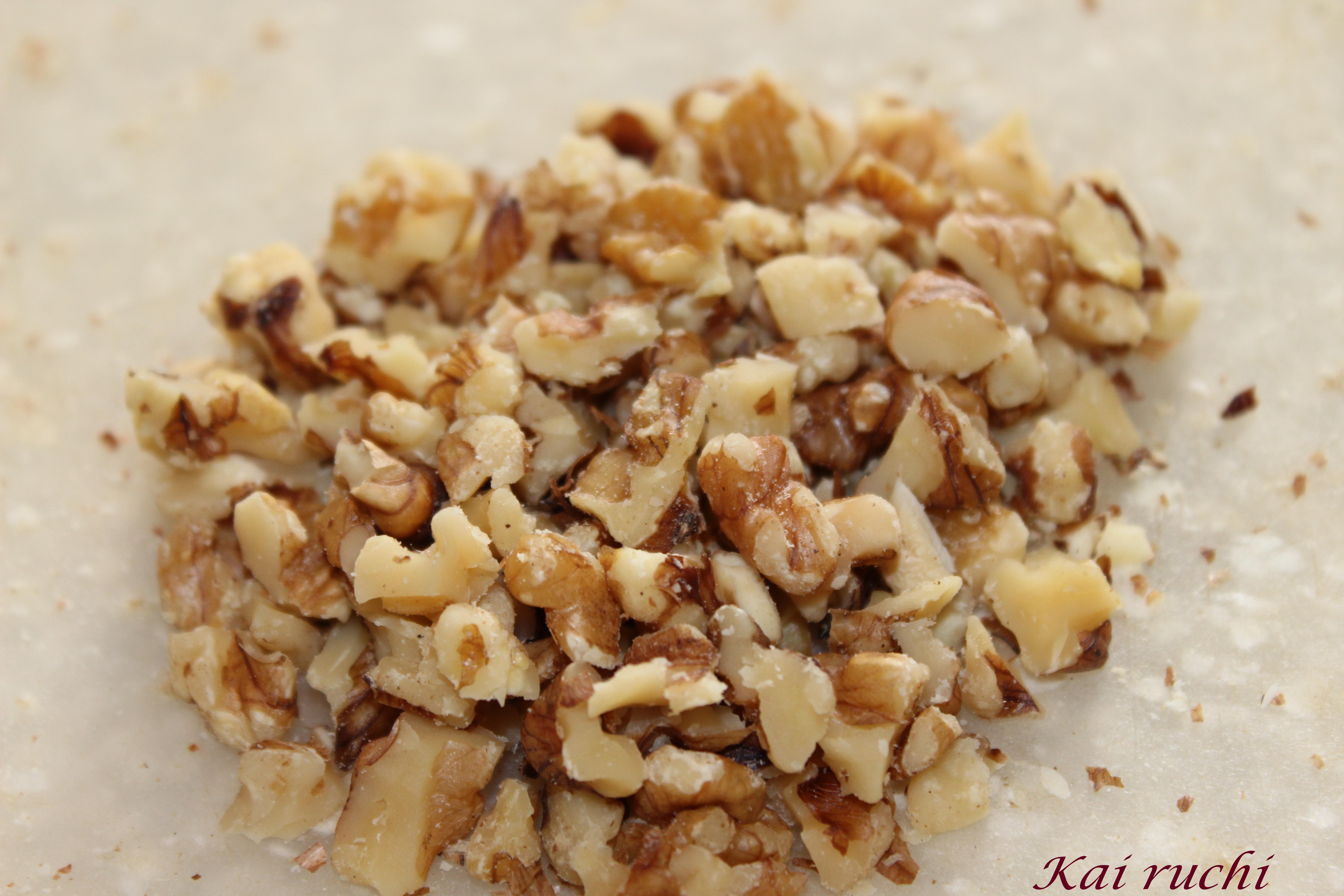 Walnut Dried Fruit Bunt Cake