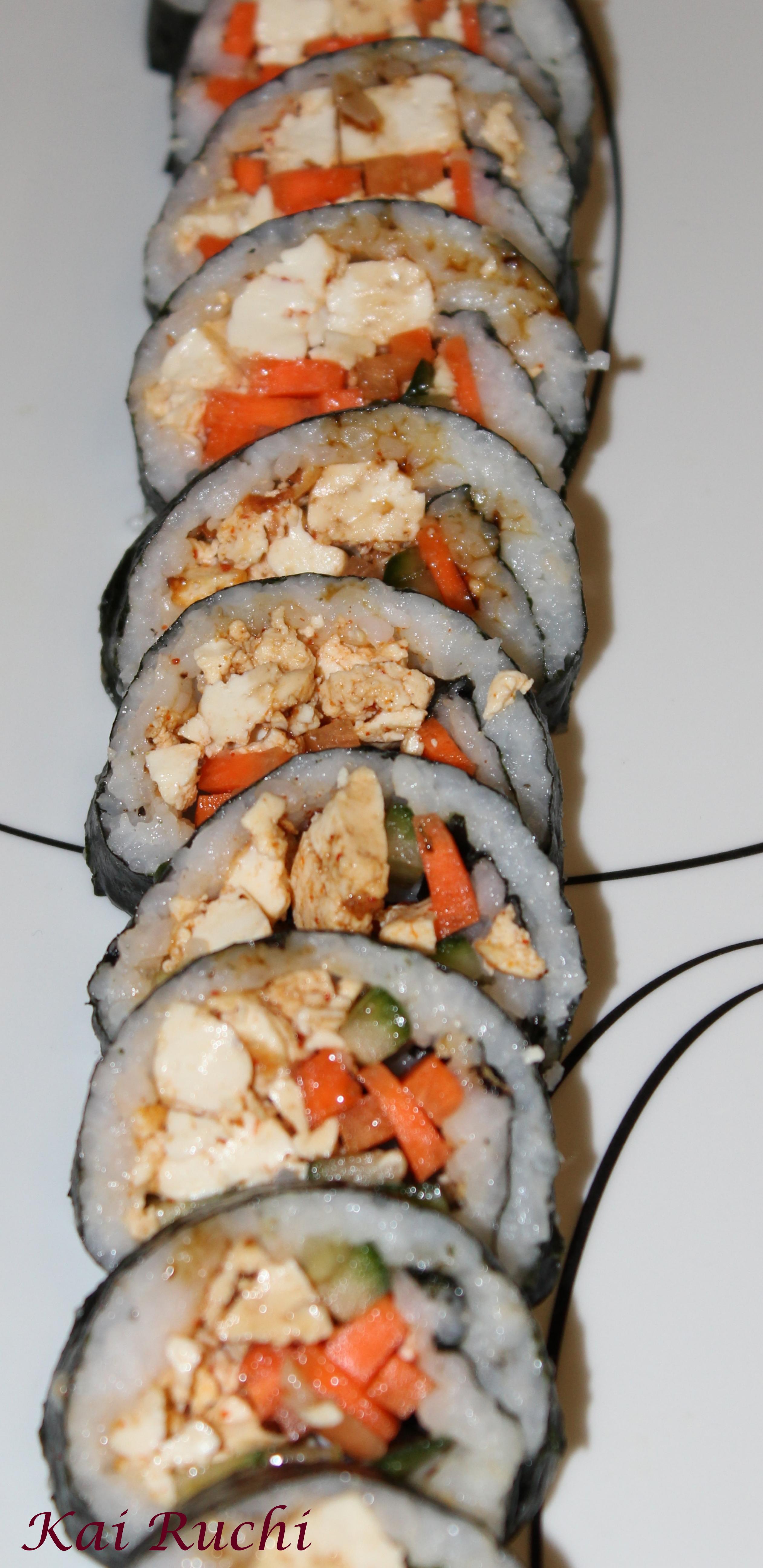 Vegetarian Sushi Kai Ruchi