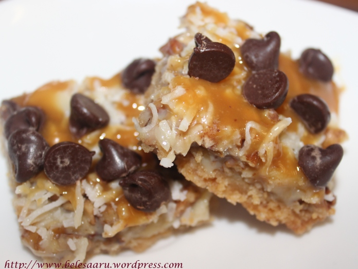 Chocolate caramel bar